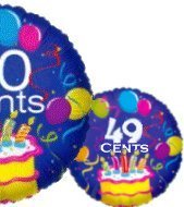 Mylar Balloons for Only 35 Cents in Volume